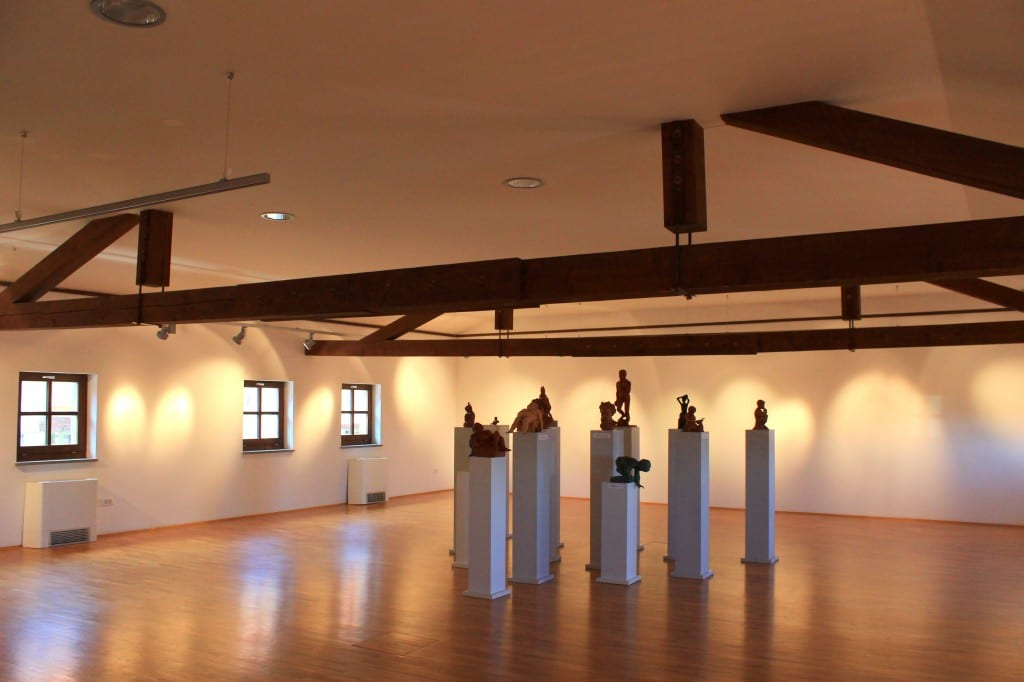 I House of Culture har de også svære gallerier hvor de ofte holder utstillinger eller arrangementer