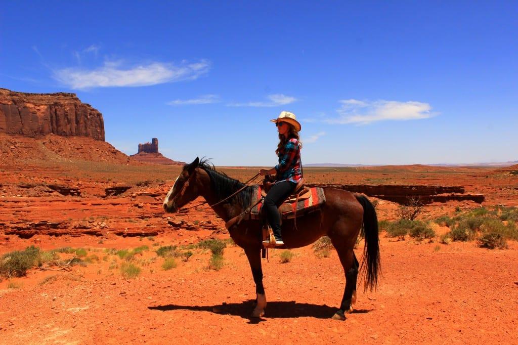 Endelig fikk jeg leke cowboy i Monument Valley, USA