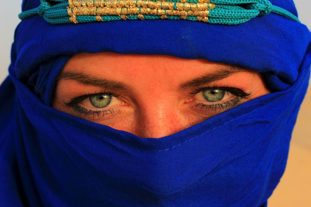 Det var ganske gøy å leke nomade på kamelryggen i Sahara