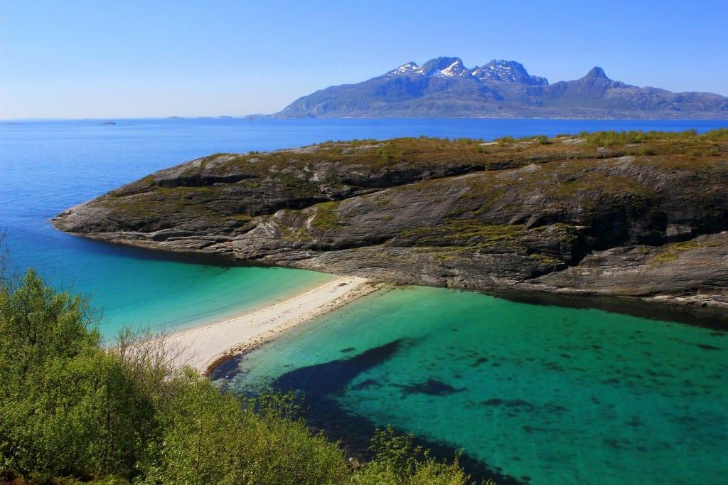 En av mange paradisstrender i Nord-Norge