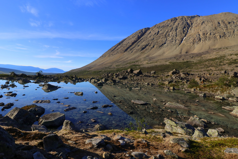 isbreer former landskapet
