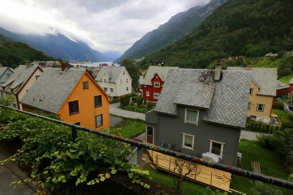 Den sjarmerende lille byen Odda