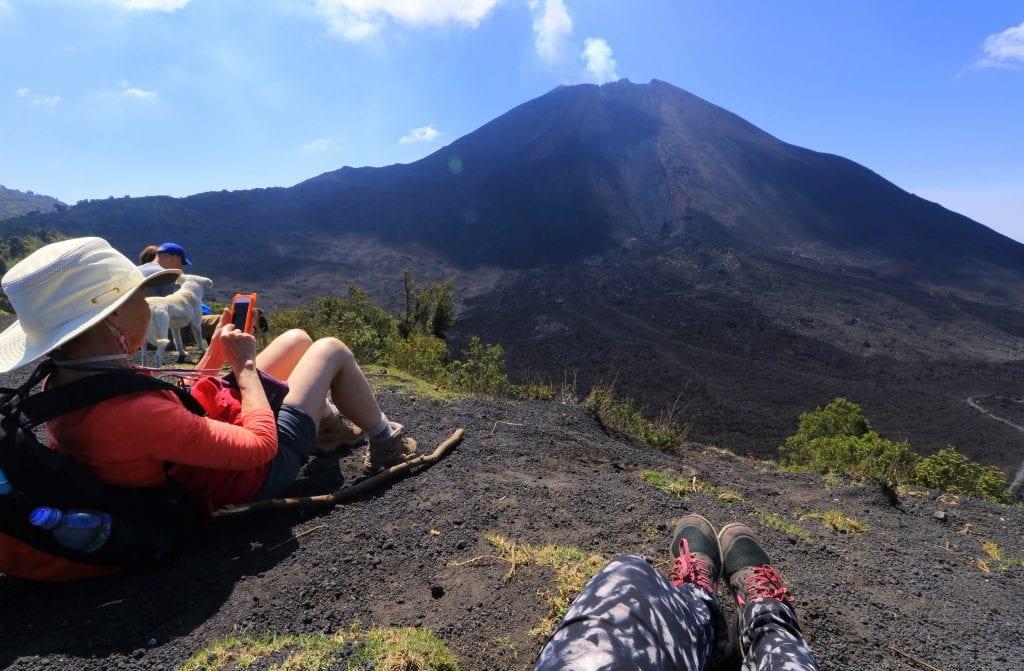 skjema av vulkanen